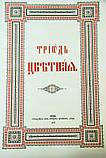 Триодь Цветная на церковно-славянском языке, фото 3