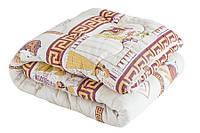 Зимнее теплое гипоаллергенное одеяло наполнитель Airfiber двуспальное
