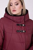 Зимнее женское пальто Riches 697 (куртка) Большие размеры 52-64