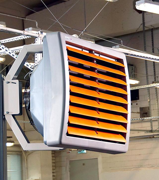 Тепловентилятор водяной