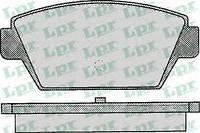 Тормозные колодки задние для Mitsubishi Colt/Lanser/Galant/Eclipse