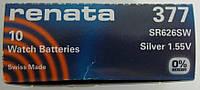 Батарейка для часов RENATA 377 SR626 Япония