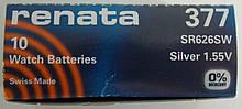 Батарея для годинника RENATA 377 SR626 Японія