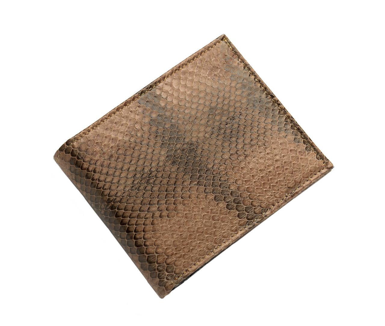Кошелек  Ekzotic Leather из натуральной кожи морской змеи Коричневый(snw 38_3)