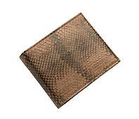 Кошелек  Ekzotic Leather из натуральной кожи морской змеи Коричневый(snw 38_3), фото 1