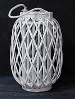 Декоративный фонарь-ваза из лозы , фото 1