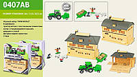 Набор FARM WORLD 0407AB трактор, с аксесс., в коробке 24*20*12см
