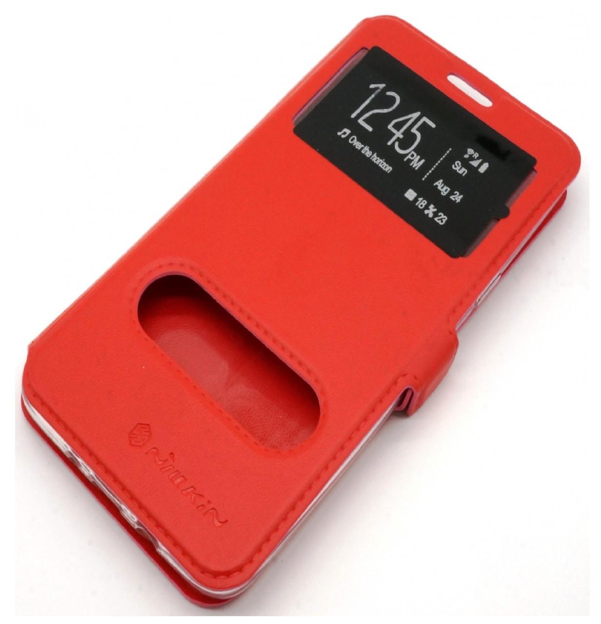 Чехол-книжка Nillkin 2 Window Style для Xiaomi Redmi Note 4X / Note 4 (SD) Red