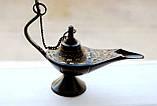 Лампа Алладина бронзовая черная (10х8х4 см), фото 2
