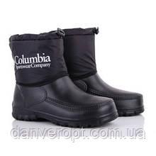 Ботинки мужские зимние стильные COLUMBIA размеры 41-45 купить оптом со склада 7км Одесса