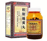 "Пилюли Гуй Фу Ди Хуан Вань / Gui Fu Di Huang Wan"" 480шт при болях в суставах"