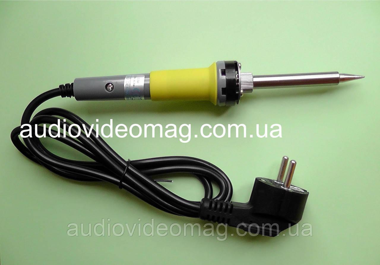Паяльник ZD-200N, 220В, 50 Ватт, керамический нагреватель, евровилка