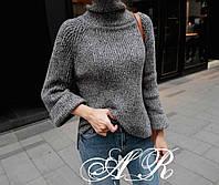 Осень 2018! Модный и уютный, женский свитер с высоким горлом РАЗНЫЕ ЦВЕТА