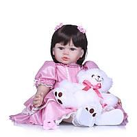 Кукла реборн 62 см девочка Стефания
