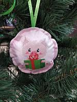 ШНФ-014. Пошита новорічна іграшка для вишивки бісером