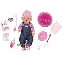 Интерактивная кукла My Little BABY born® Джинсовый стиль Zapf Creation 826157