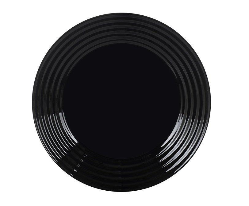 Тарелка десертная Luminarc Harena круглая 19 см Black (L7613)