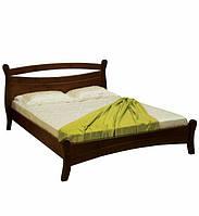 Ліжко півтораспальне в спальню, дитячу з натурального дерева 140х190 Л-209 Скіф, фото 1