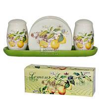 6912-7 Набор для соли и перца с серв. Лимон