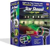 Оригинальная гирлянда Star Shower Laser Light