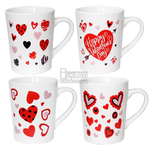 2090-06 Чашка 400мл Валентинка