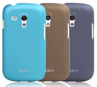 Чехол Rock Samsung Galaxy S Mini I8190 naked shell series blue