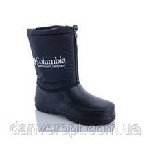 Сапоги мужские зимние модные COLUMBIA на молнии размеры 41-45 купить оптом со склада 7км Одесса