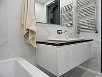 Подвесная тумба с умывальником в ванную на заказ