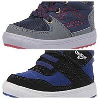 Сникерсы хайтопы OshKosh EUR 22 23 24 высокие детские кроссовки ботинки