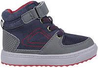 Сникерсы хайтопы OshKosh EUR 22 высокие детские кроссовки ботинки