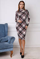 Женское платье футляр из ангоры