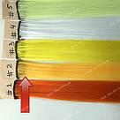 Искусственные термо пряди волос на заколках, светло оранж, фото 3