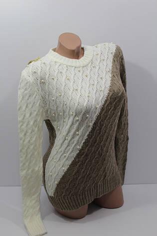 Купить Женский вязаный свитер оптом и в розницу Hal 5034 в ... 197d9e0a4fe91