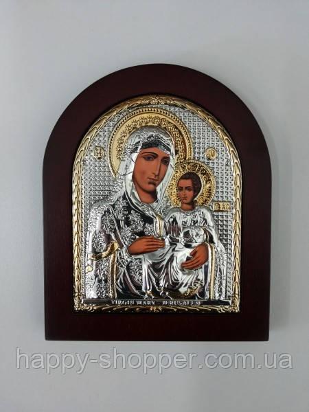 """Икона """"Божьей Матери"""" Иерусалимская 19 х 15 см"""