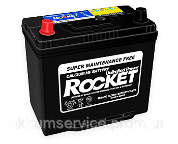 Аккумулятор автомобильный Rocket Asia 60AH R+ 500А