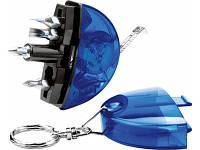 Брелок-рулетка с набором отверток и фонариком