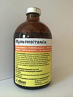 Мультивітамін 100 мл Альфасан (Нідерланди) комплексний ветеринарний вітамінний препарат