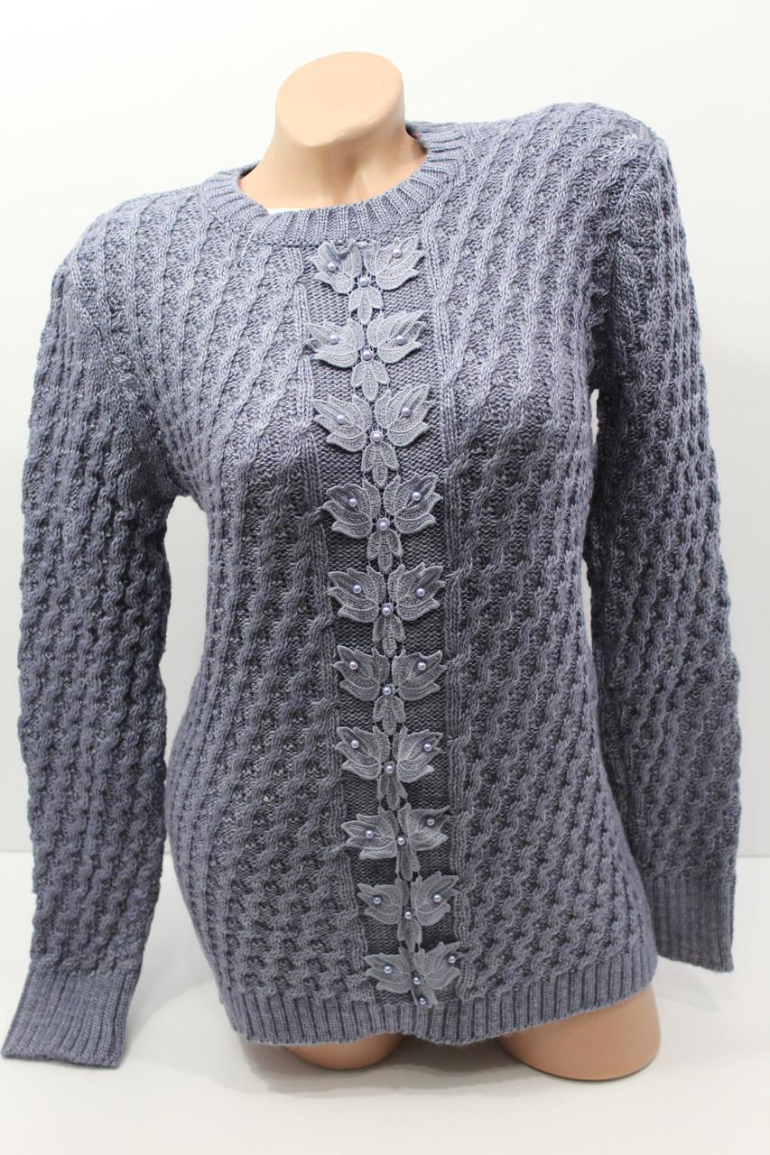 Женские вязаные свитера оптом и в розницу T-NE 1001