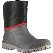 Мужские теплые и водонепроницаемые сапоги для зимнего трекинга SH100 QUECHUA