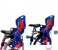 Детское велокресло заднее Tilly T-831 вес ребенка до 22 кг