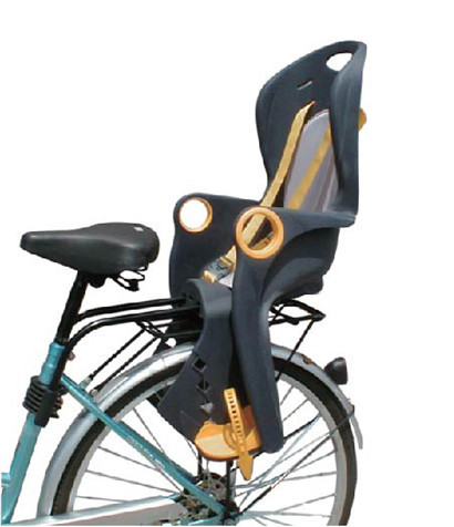 Детское велокресло заднее Tilly T-821 до 22 кг ребенка, фото 1