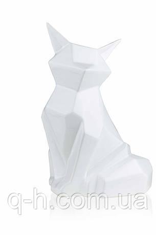 Статуэтка лисы из керамики Полигональная 19,5 см (2506-19,5), фото 2