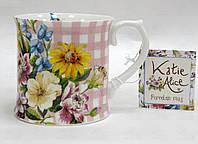 Katie Alice Кружка для чая English Garden розовая 350мл MG3673