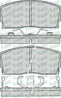 Тормозные колодки передние для Daihatsu Charade / Apluase с 1987 года выпуска