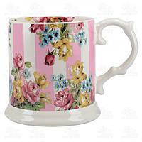 Katie Alice Кружка для чая Blooming Fancy Stripe 480мл KA5227130