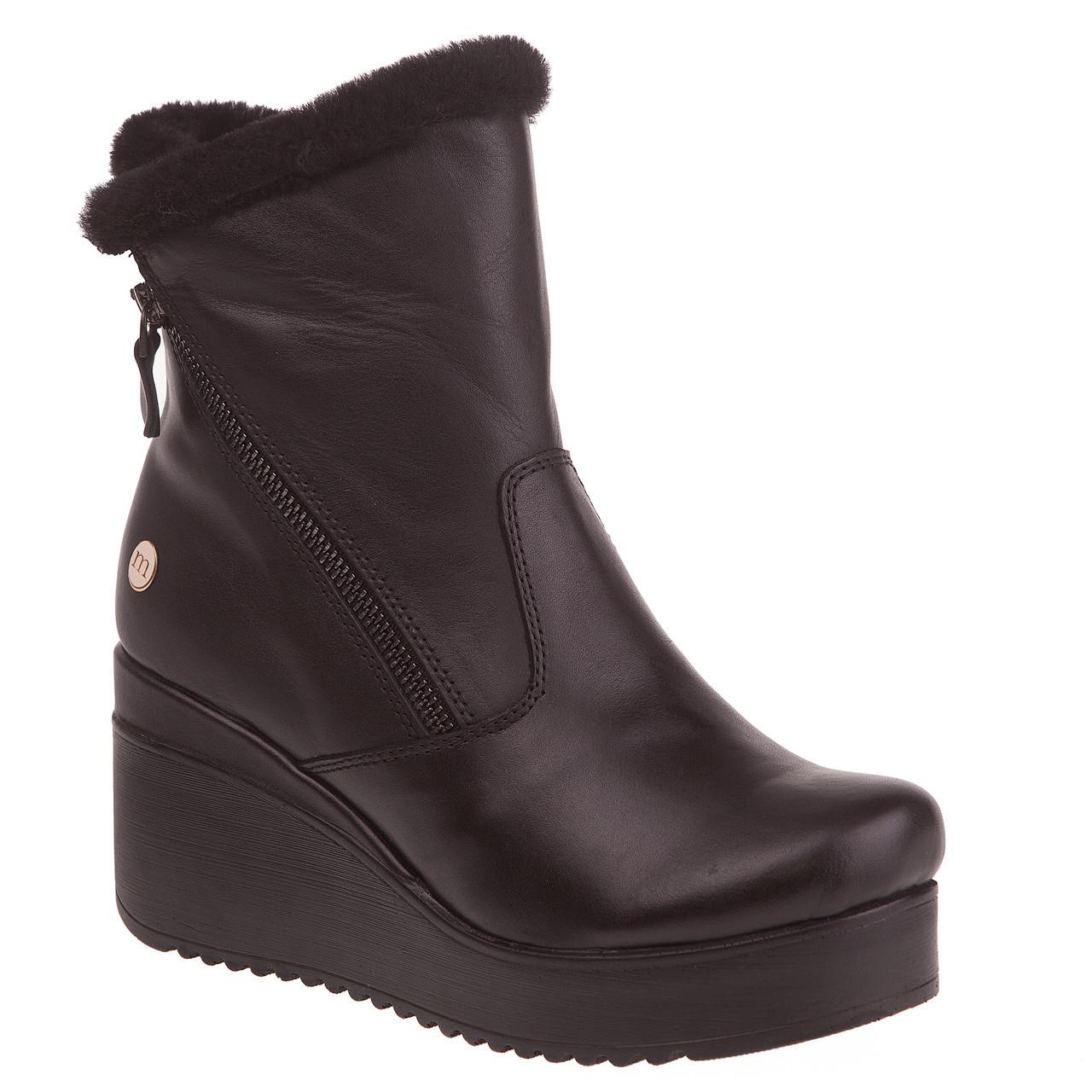 f52a8e11d Ботинки женские Mamma Mia (черные, на танкетке, модные, удобные, туфли) 36,  цена 1 795 грн., купить Червоноград — Prom.ua (ID#814784242)