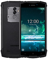 "Doogee S55 Lite black IP68 2/16 Gb, 5.5"", MT6739, 3G, 4G"