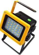 Фонарь переносной светодиодный аккумуляторный (20LED, зарядка 220V)