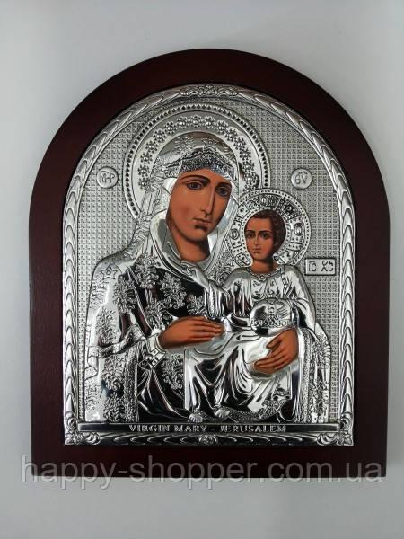 """Икона """"Божья Матерь Иерусалимская"""" 19 х 15 см"""