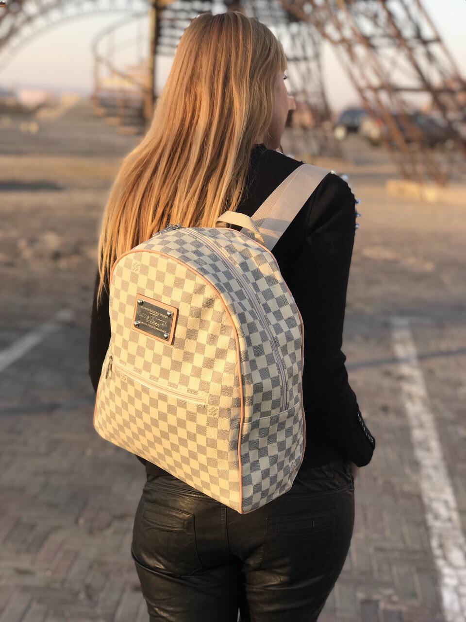 Стильный Рюкзак в стиле LV Louis Vuitton ( Луи Витон) Vintage white -  Планета здоровья eaa161ff31b